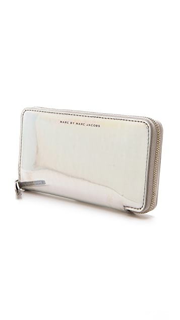 Marc by Marc Jacobs Techno Slim Zippy Wallet