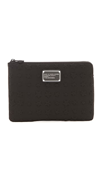 Marc by Marc Jacobs Reluctant Stars Debossed Neoprene iPad Mini Case