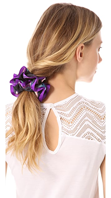 Marc by Marc Jacobs Shooting Houndstooth Chou Chou Scrunchie