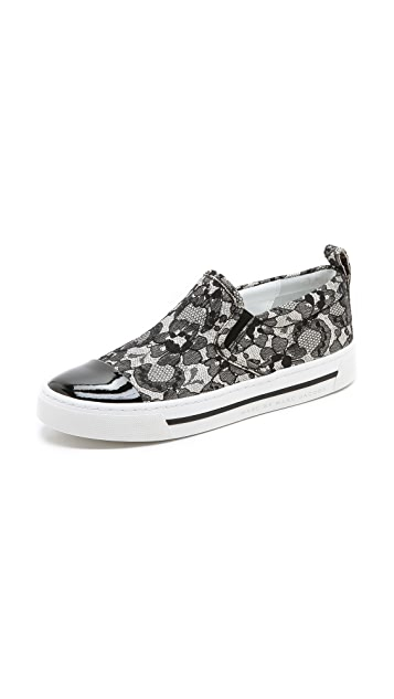 Marc by Marc Jacobs Slip On Lace Sneakers