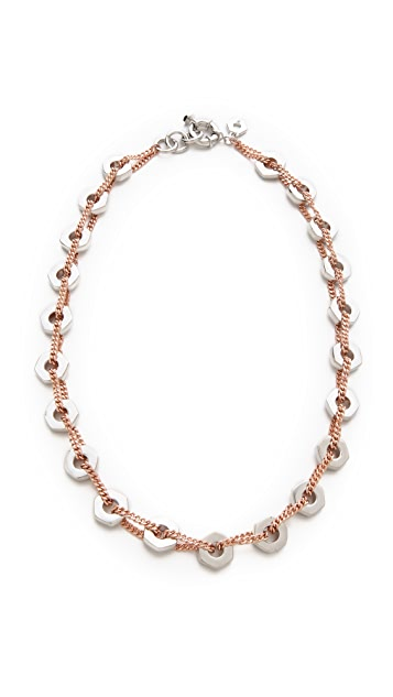 Marc by Marc Jacobs Bolt Link Necklace