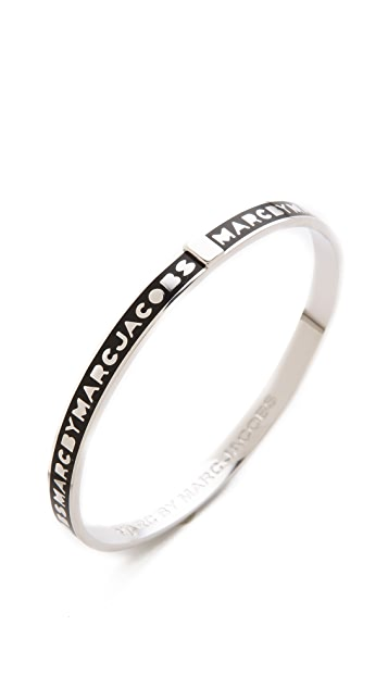 Marc by Marc Jacobs Skinny Logo Bangle