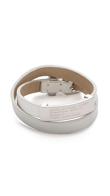 Marc by Marc Jacobs Standard Supply Double Wrap Bracelet