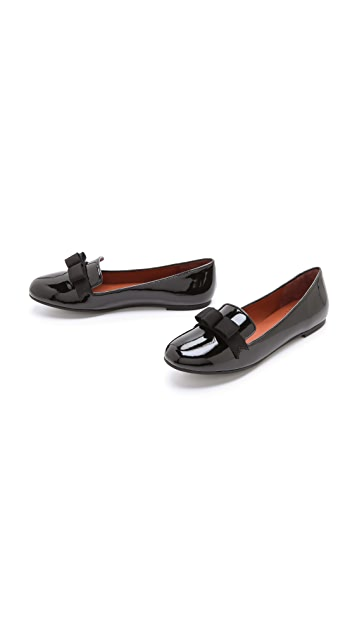 Marc by Marc Jacobs Patent Bow Loafers