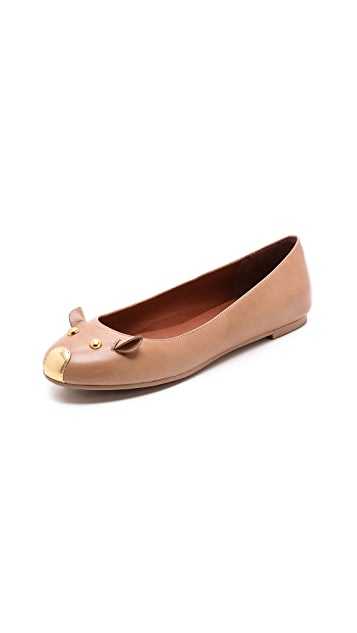 Marc by Marc Jacobs Mouse Ballet Flats