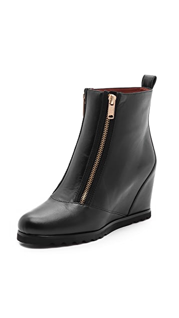 Marc by Marc Jacobs Zip Hidden Wedge Booties