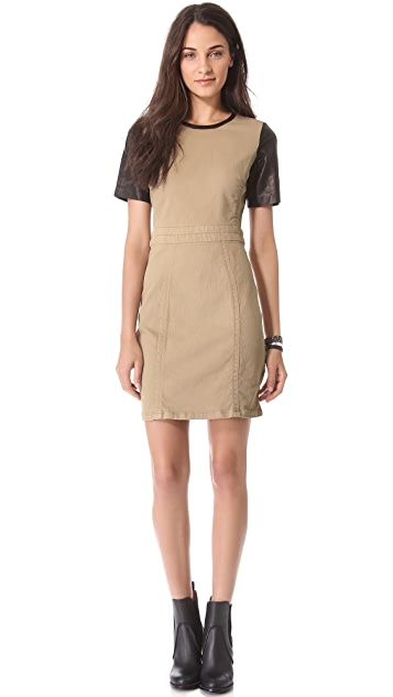 Marc by Marc Jacobs Depsey Drill Dress