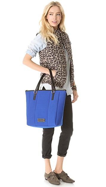 Marc by Marc Jacobs Take Me Quilted Neoprene Tote