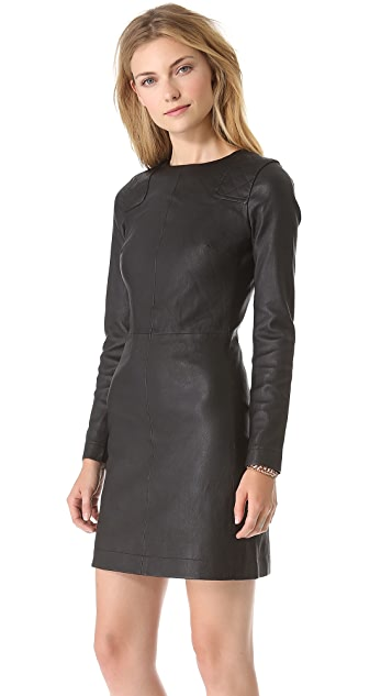 Marc by Marc Jacobs Lena Leather Dress