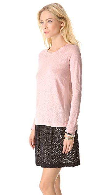 Marc by Marc Jacobs Martha Long Sleeve Tee
