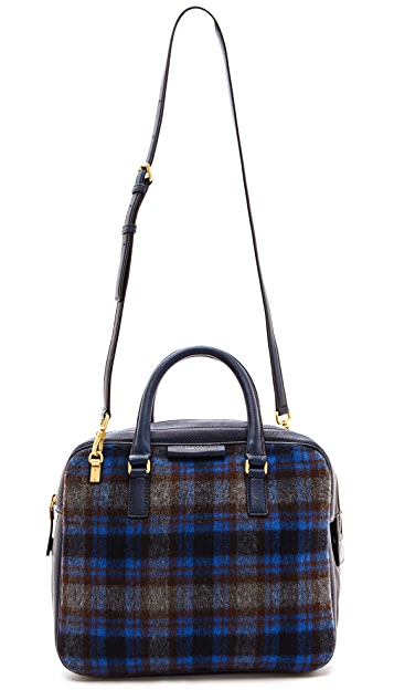 Marc by Marc Jacobs Plaid Show Group Rosie Bag