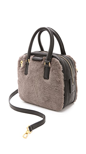 Marc by Marc Jacobs Shearling Show Group Clover Bag