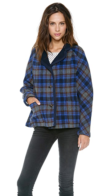 Marc by Marc Jacobs Gable Wool Reversible Jacket