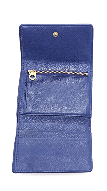 Marc by Marc Jacobs Too Hot To Handle Colorblock Billfold Wallet