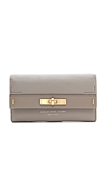 Marc by Marc Jacobs East End Long Trifold Wallet
