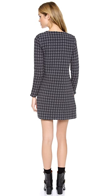 Marc by Marc Jacobs Quilty Argyle Dress