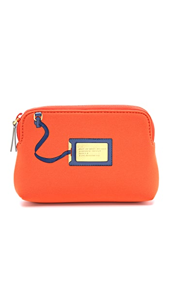Marc by Marc Jacobs Heathrow Trompe l'Oeil Neoprene Cosmetic Case