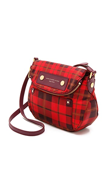 Marc by Marc Jacobs Preppy Nylon Aimee Plaid Mini Natasha Bag