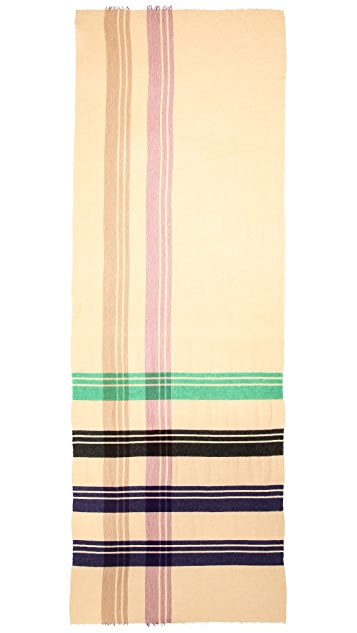 Marc by Marc Jacobs Jumbo Plaid Scarf