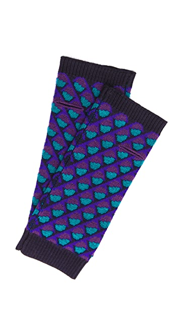 Marc by Marc Jacobs Etta Fingerless Gloves