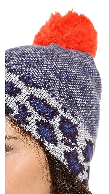 Marc by Marc Jacobs Lenora Leopard Hat