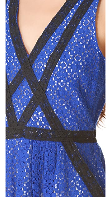Marc by Marc Jacobs Collage Lace Dress