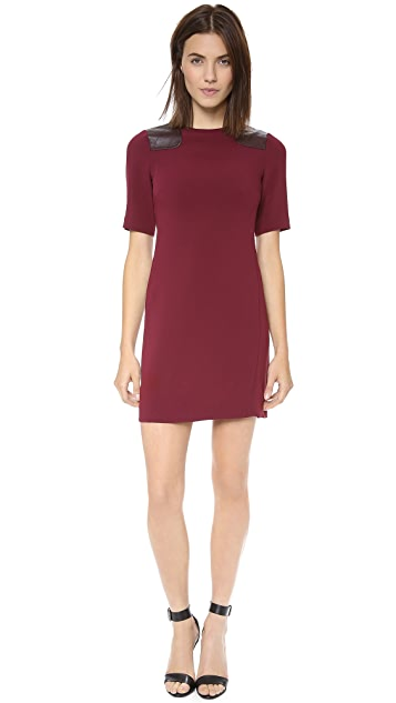 Marc by Marc Jacobs Sparks Dress with Quilted Shoulder