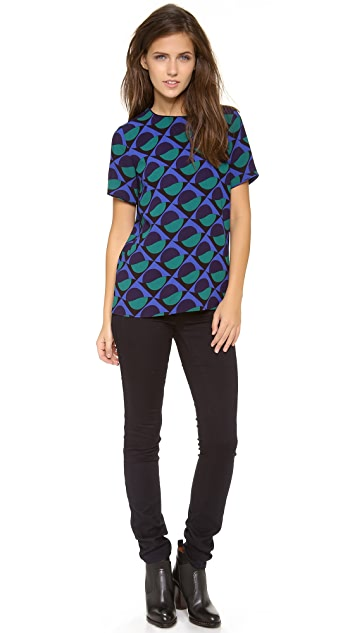 Marc by Marc Jacobs Etta Print Top