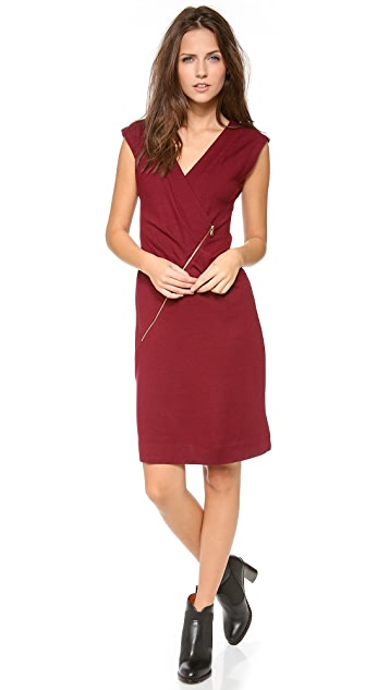 Marc by Marc Jacobs Mercedes Wool Sleeveless Dress