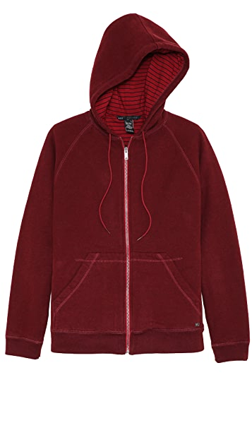 Marc by Marc Jacobs Boulder Zip Up Hoodie