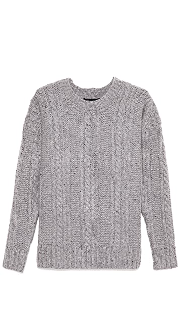 Marc by Marc Jacobs Tweedy Oversized Sweater
