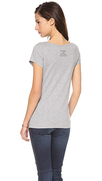 Marc by Marc Jacobs Olive Printed Tee