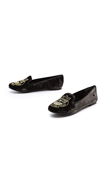 Marc by Marc Jacobs Owl Flat Loafers
