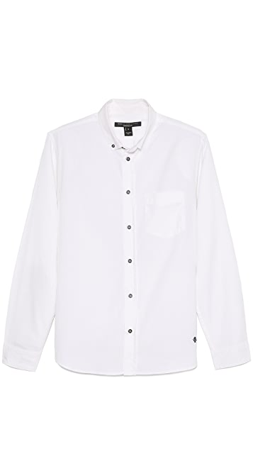 Marc by Marc Jacobs Solid Oxford Sport Shirt