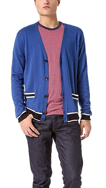 Marc by Marc Jacobs Tipped Cardigan