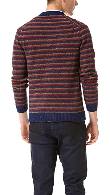 Marc by Marc Jacobs Finsbury Stripe Cardigan