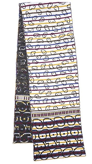 Marc by Marc Jacobs Finsbury Knit Scarf