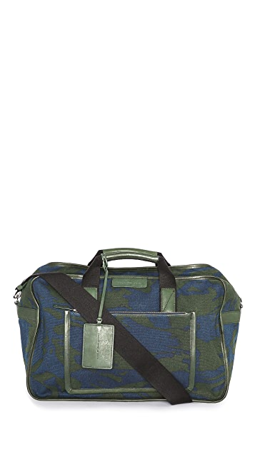Marc by Marc Jacobs Canvas Duffel Bag with Leather Trim