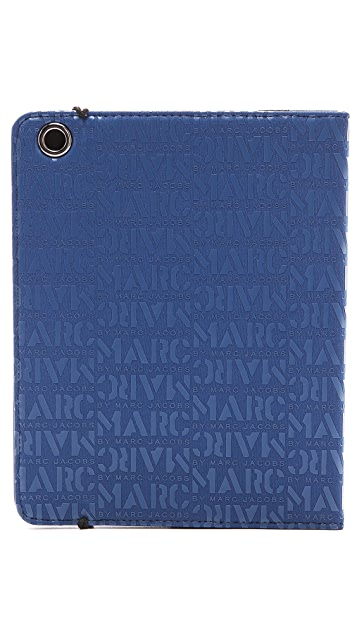 Marc by Marc Jacobs Logo Print Tablet Book