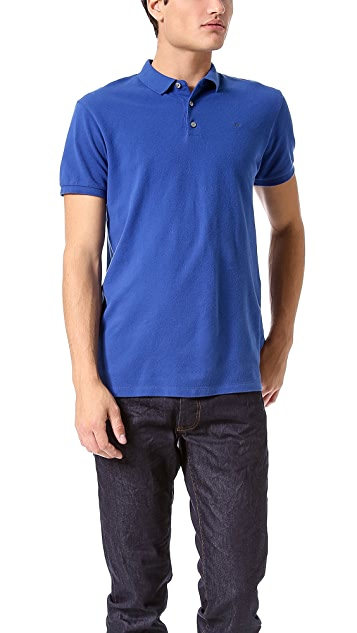 Marc by Marc Jacobs Solid Logo Polo Shirt