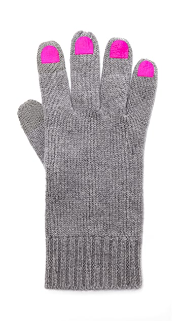 Marc by Marc Jacobs Finger Gloves