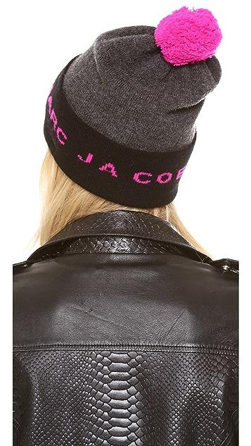 Marc by Marc Jacobs Logo Ski Hat
