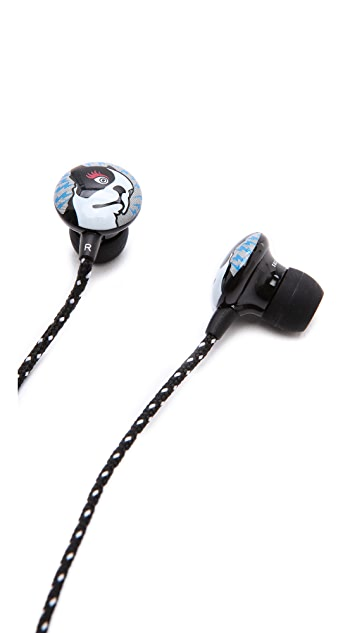 Marc by Marc Jacobs Olive Earbuds