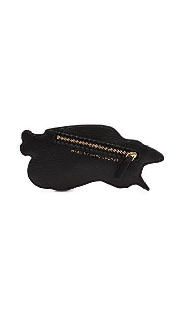 Marc by Marc Jacobs Rue Animal Zip Pouch