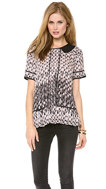 Marc by Marc Jacobs Isa Print Blouse