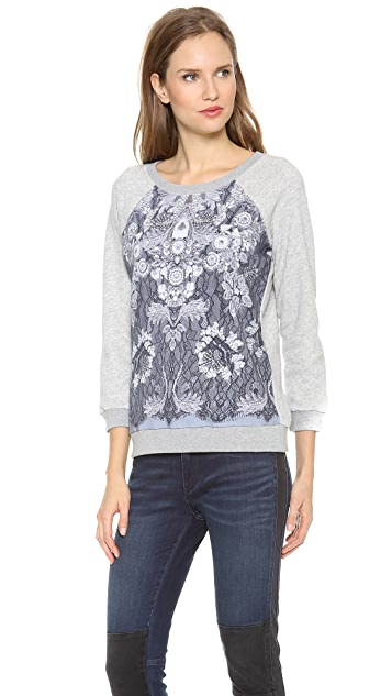 Marc by Marc Jacobs Lena Printed Sweatshirt