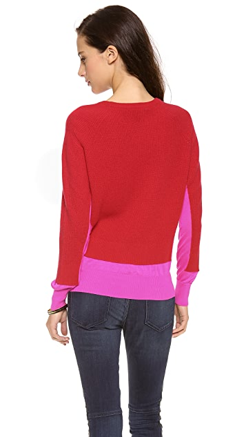 Marc by Marc Jacobs Bella Cashmere Colorblock Sweater