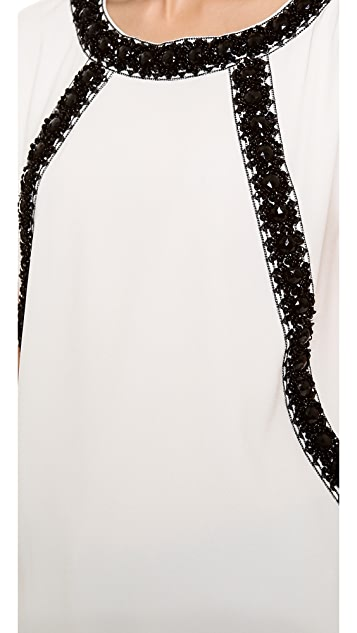Marc by Marc Jacobs Kisa Embroidery Blouse