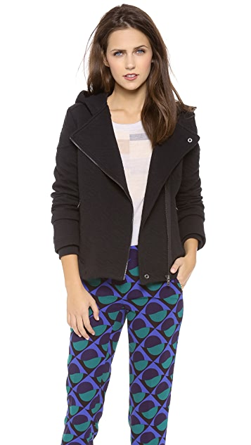 Marc by Marc Jacobs Cleo Quilted Knit Jacket