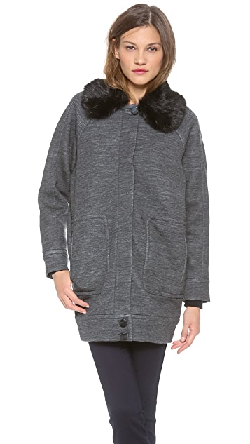 Marc by Marc Jacobs Gertrude Double Knit Coat